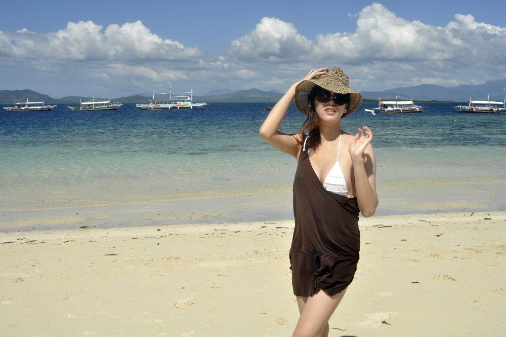 Crissy at Palawan, Philippines 2012
