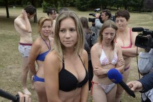 Woman attacked for wearing bikini bikinis-300x200