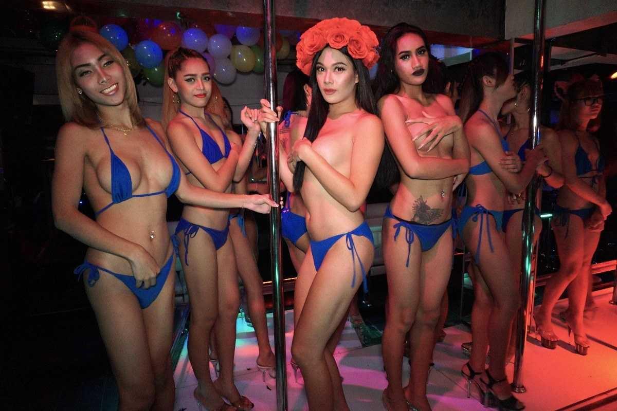 Pattaya ladyboys Ladyboys in